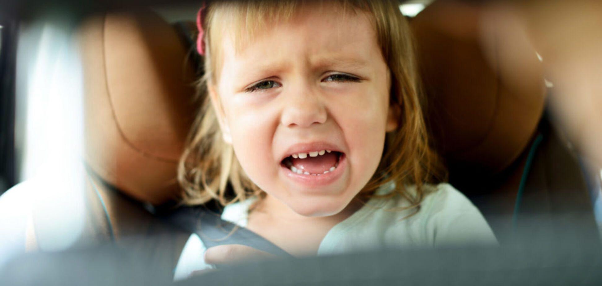 В Кривом Роге авто с ребенком угодило в ДТП на перекрёстке