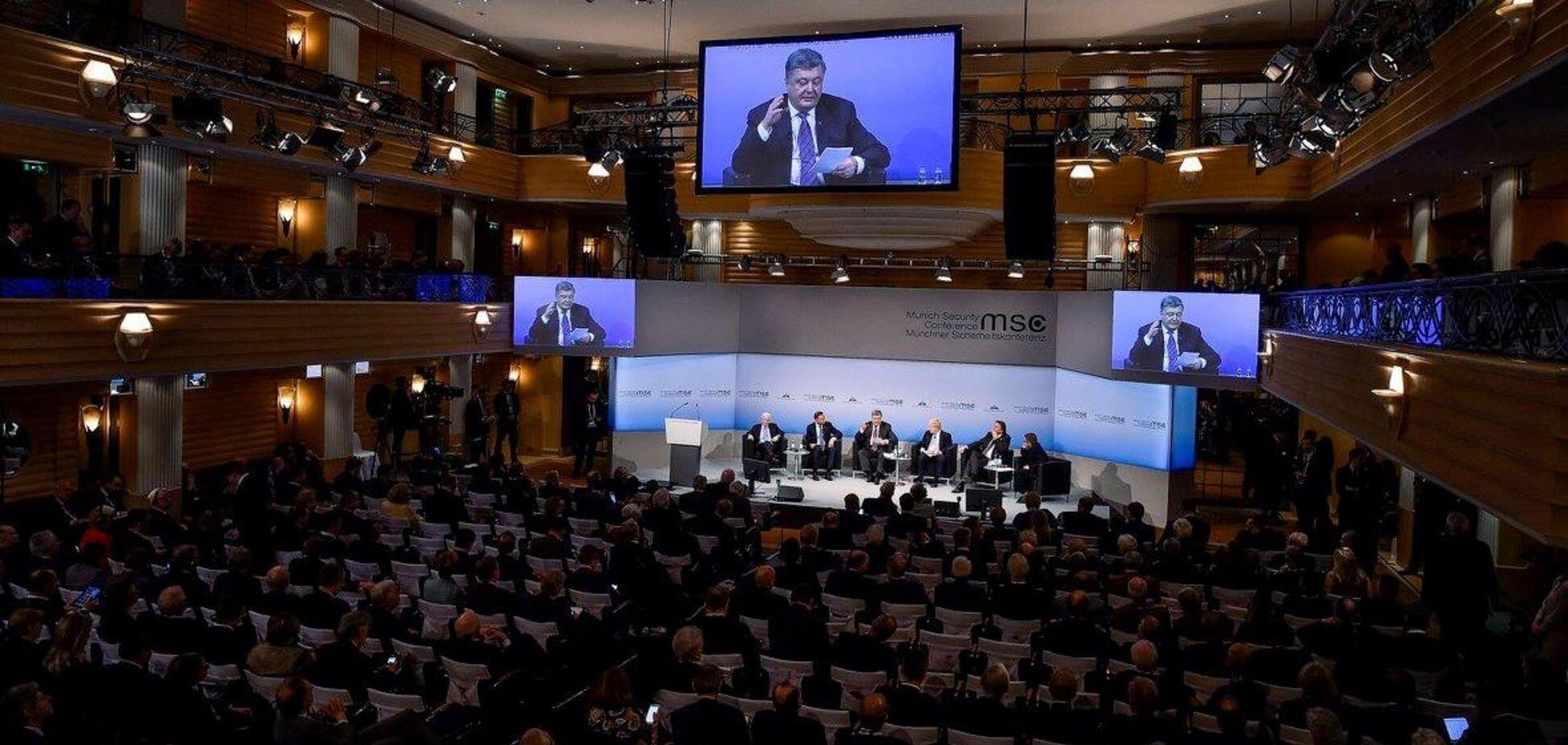 Порошенко примет участие в безопасностной конференции в Мюнхене