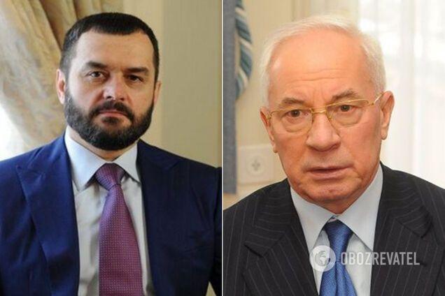 Виталий Захарченко и Николай Азаров