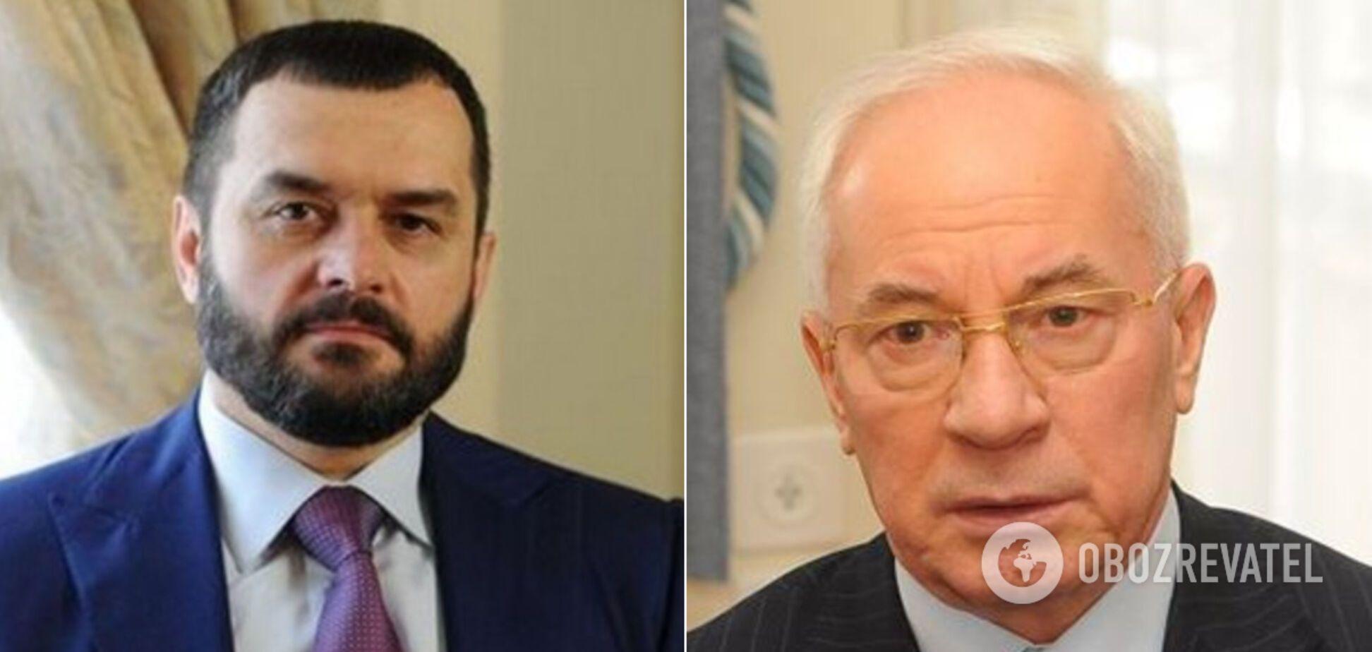 Віталій Захарченко та Микола Азаров