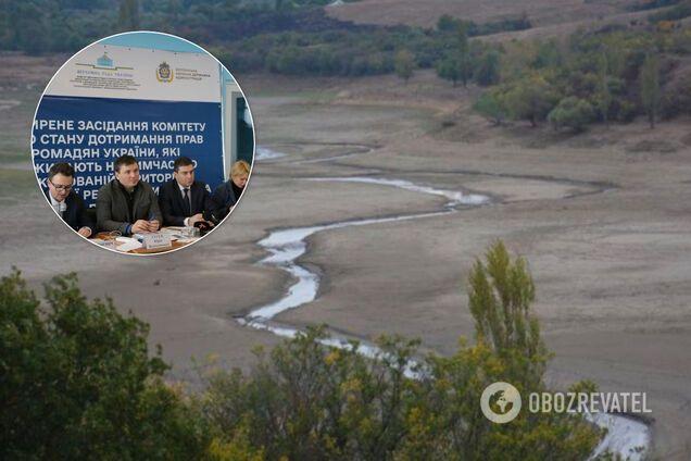 Ніякої води у Крим! У Раді дали категоричну відповідь