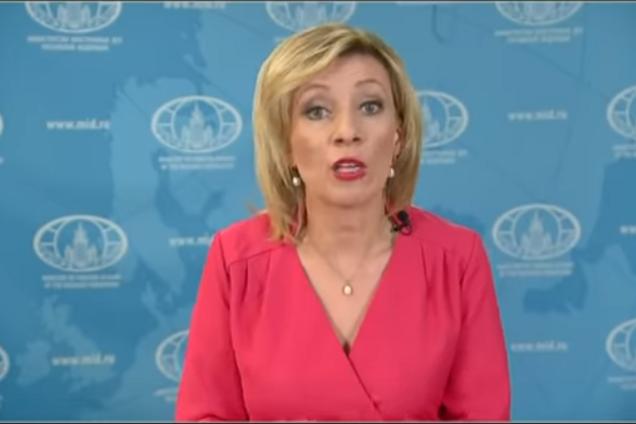 "Захарова заистерила из-за ""развала"" Украины"