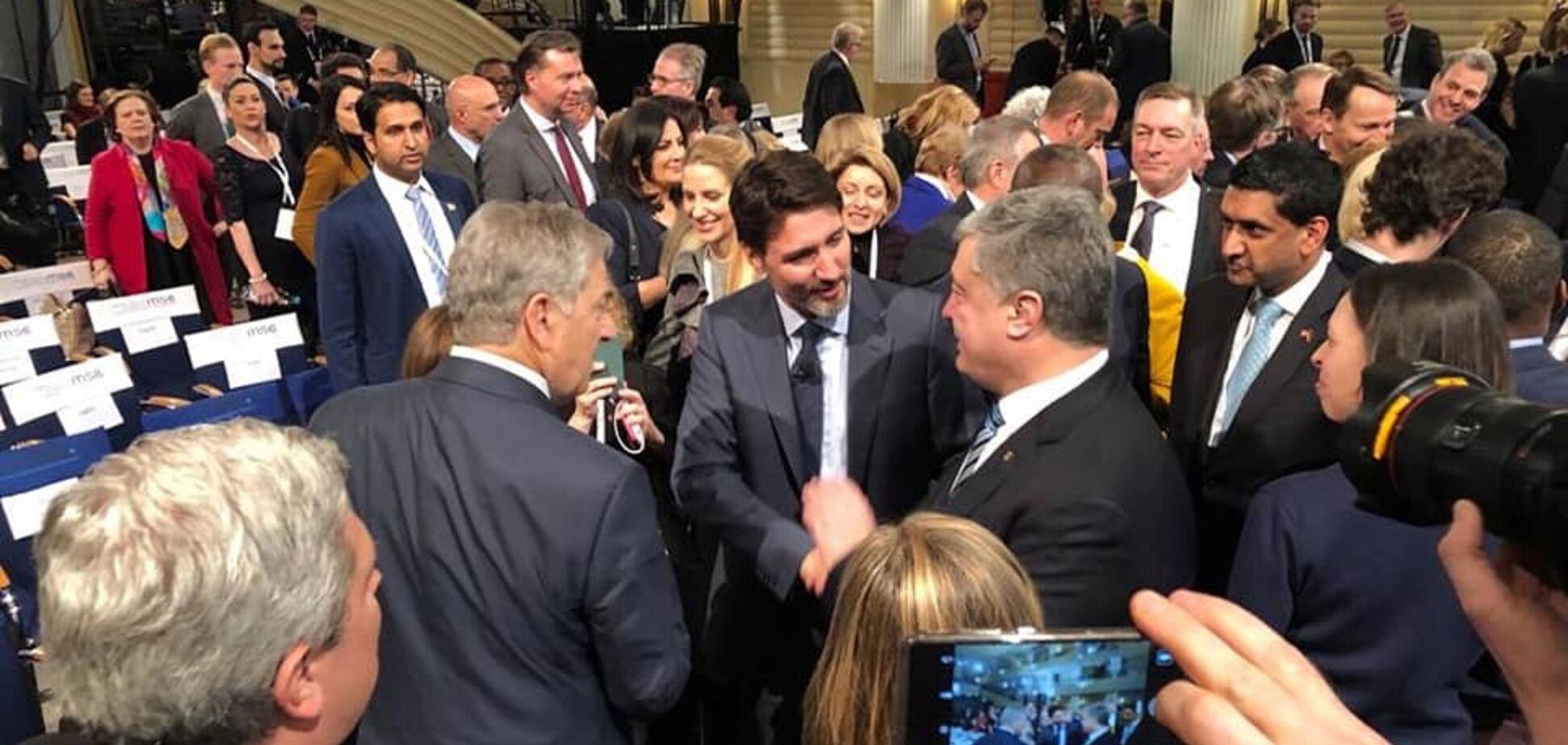 'Треба боротися за Україну!' Порошенко в Мюнхені обговорив із партнерами санкції проти РФ і повернення Криму і Донбасу