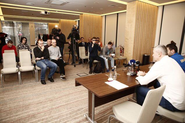 Збірна України з баскетболу проведе відкрите тренування