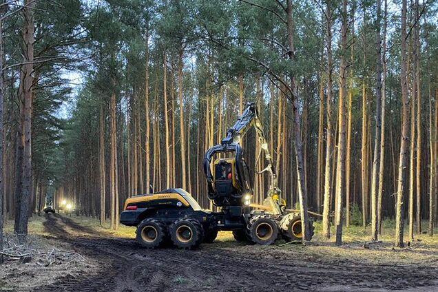 В Германии показали, как Tesla уничтожает лес под Берлином для создания фабрики