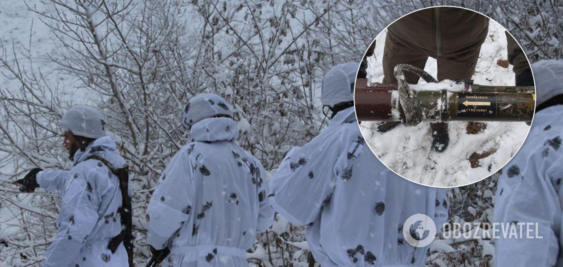 Граната в кустах, японский генерал и пьяный террорист: как прошла неделя в ООС