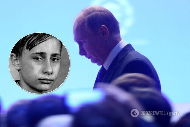 Володимира Путіна в дитинстві били