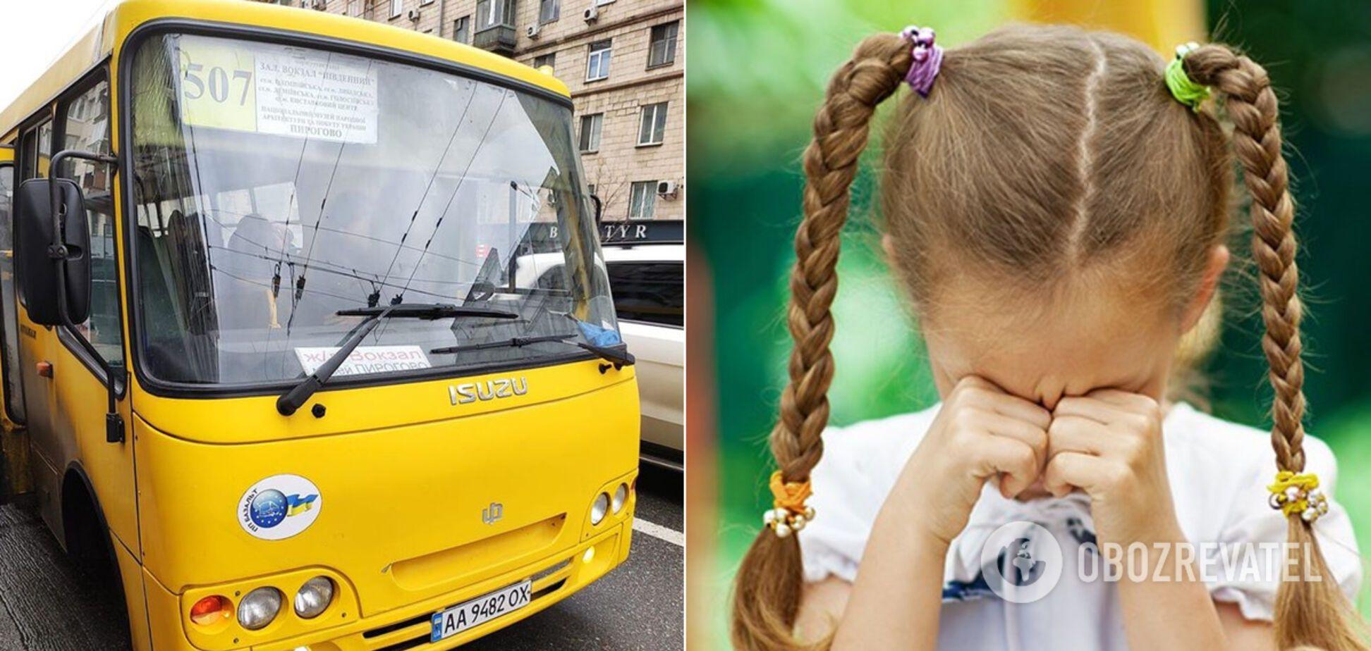 У Києві водій маршрутки втрапив у скандал через дитину