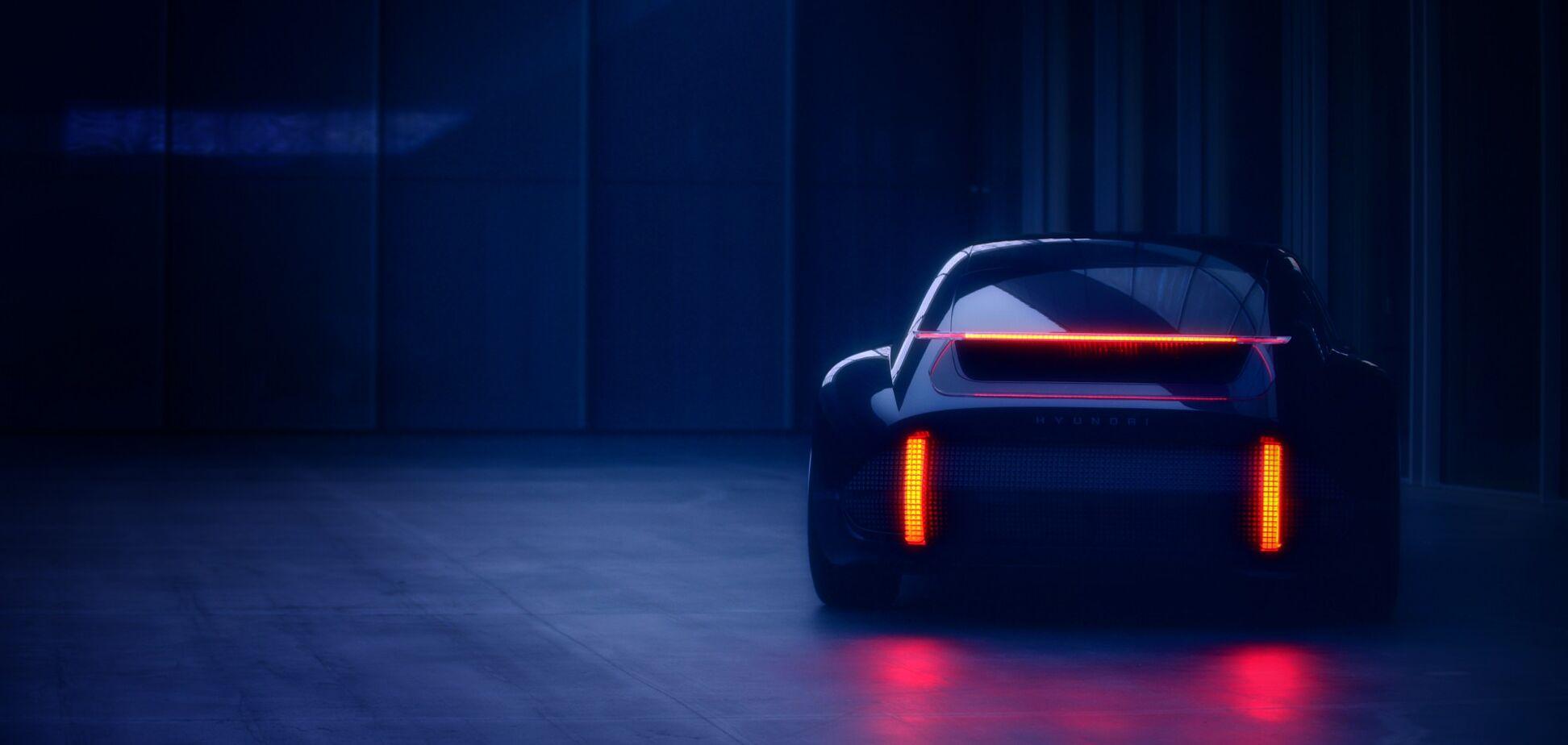 Hyundai удивляет эффектным электромобилем