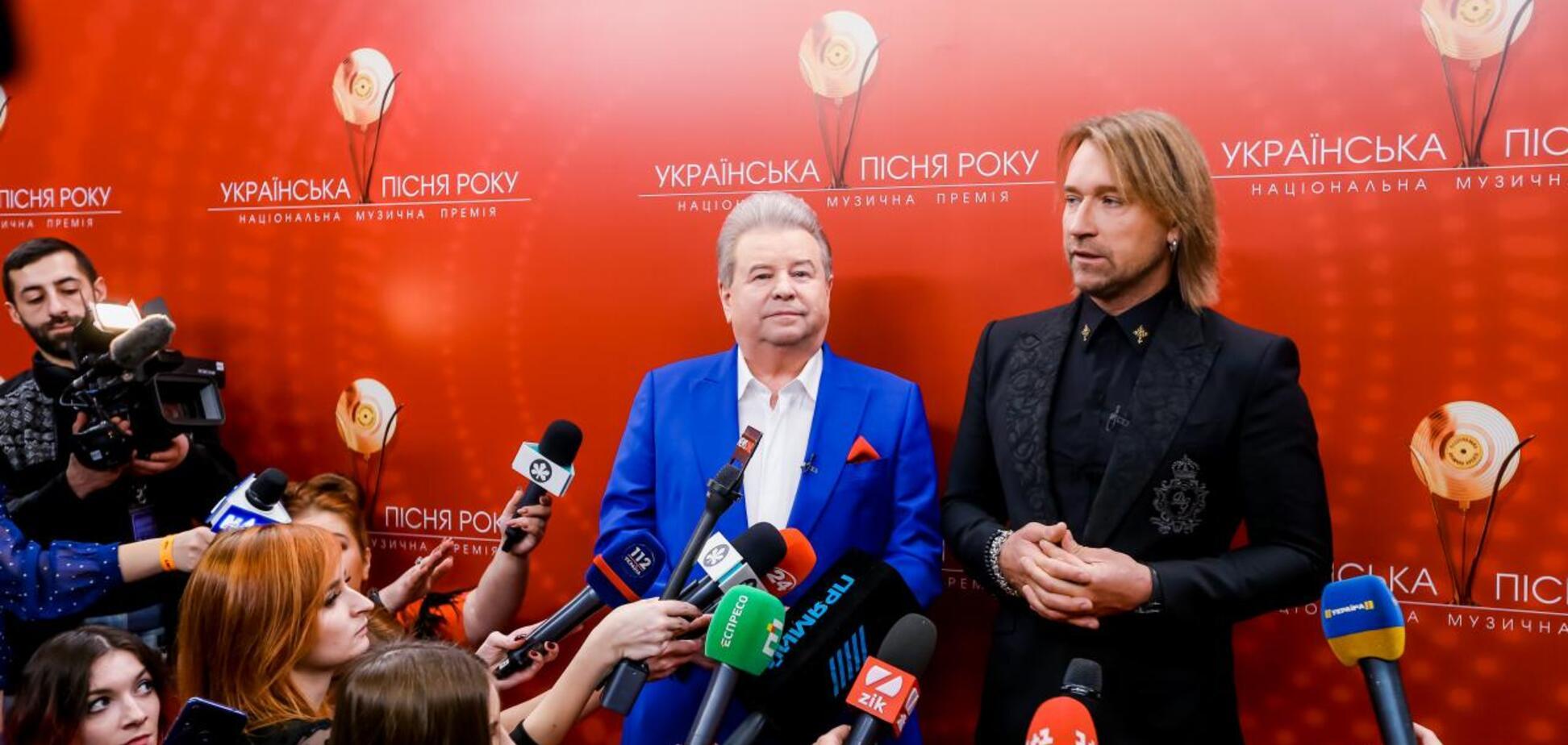 Михайло Поплавський і Олег Винник відродили 'Українську пісню року'