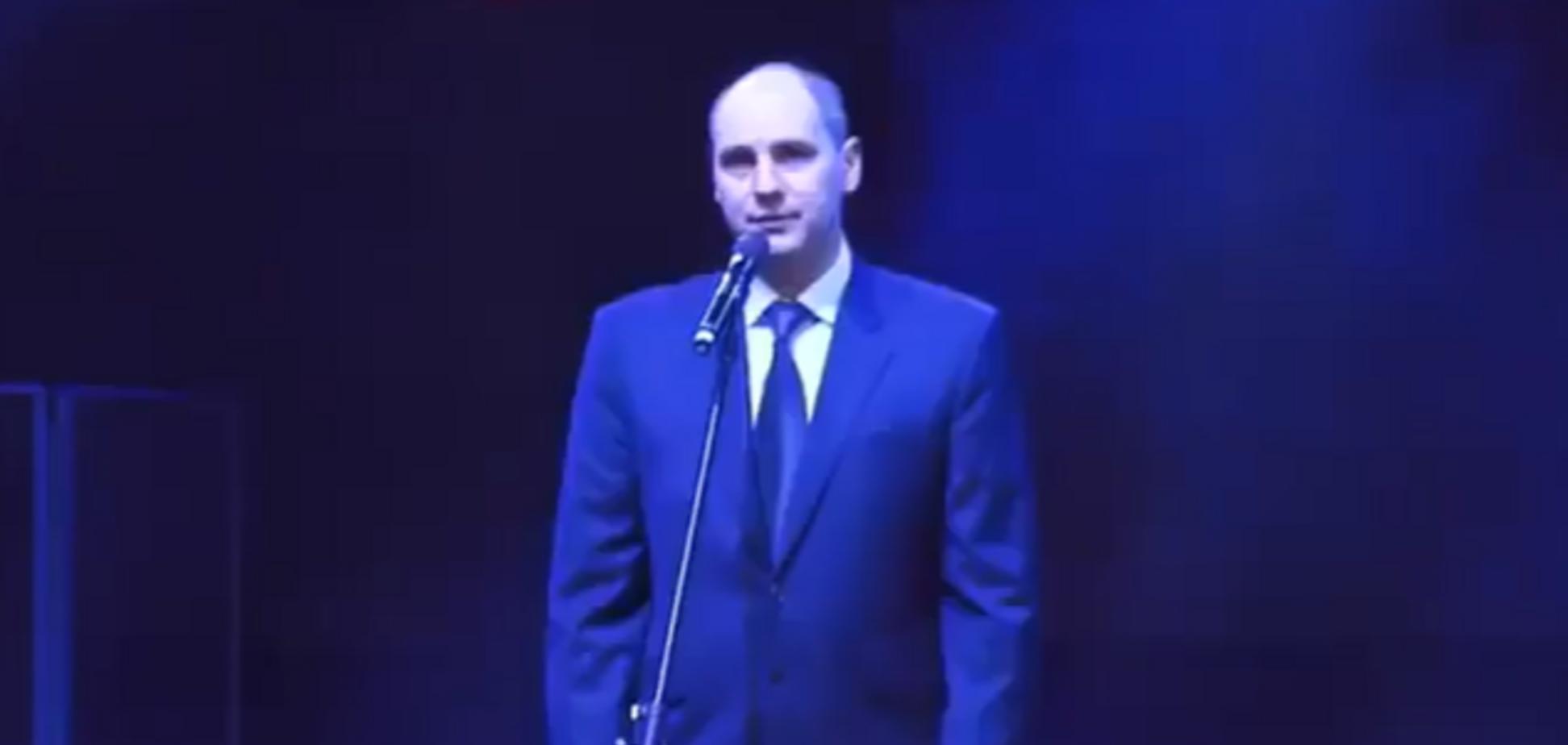 Російський губернатор побажав війни кожній родині: відео конфузу
