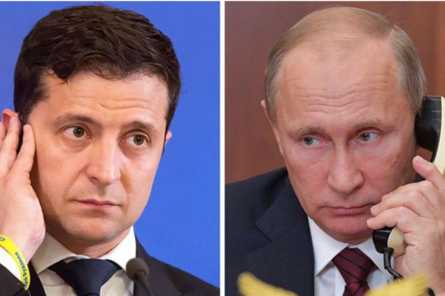У Кремлі розповіли свою версію розмови Путіна з Зеленським
