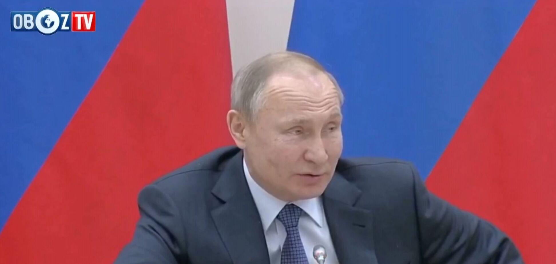 ПОРЄБРІК: Путін погрожує світові новою зброєю