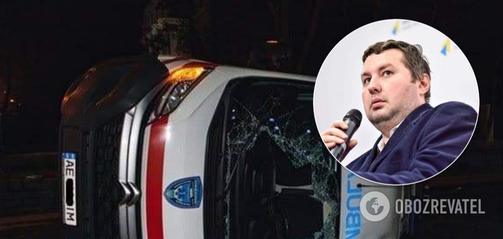 Винуватцем ДТП зі «швидкою» в Дніпрі виявився активіст