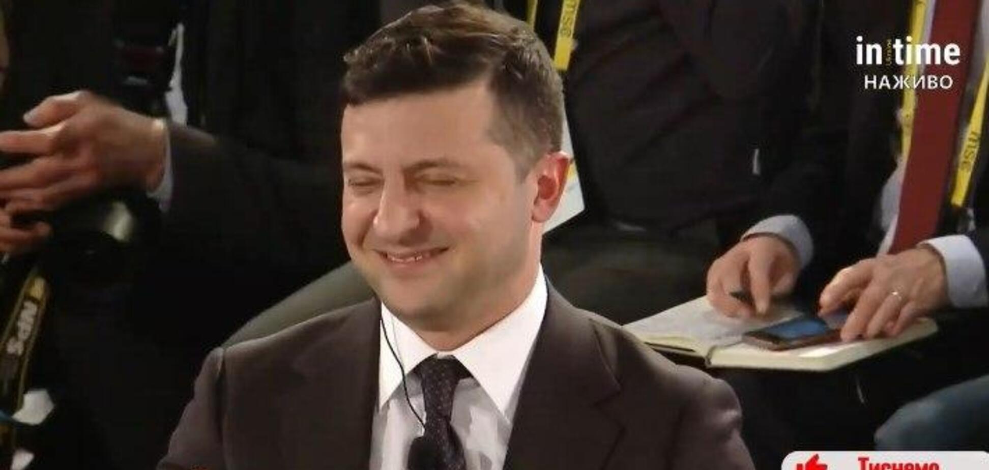 Зеленський 'підірвав' зал в Мюнхені жартом про імпічмент Трампа та Україну. Фото й відео