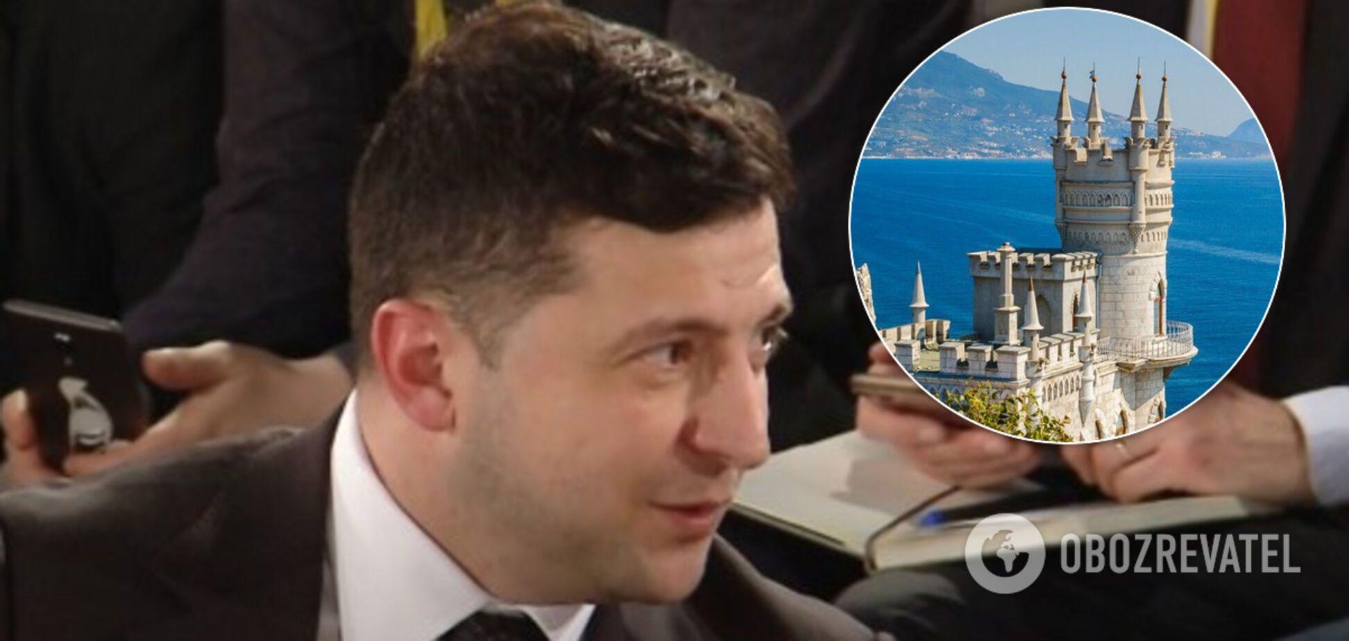 'США могли б вплинути': Зеленський в Мюнхені зробив різку заяву про Крим
