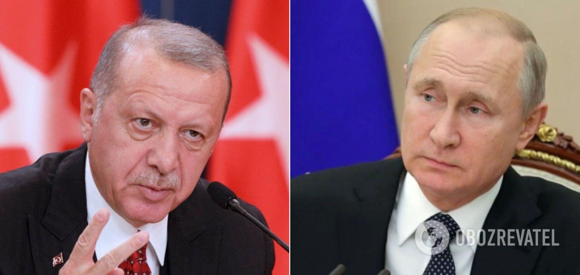 Эрдоган похвастался разгромом военных Асада и Путина в Сирии. Видео