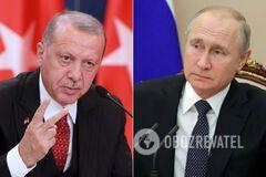 Эрдоган обвинил Россию в разжигании войны в Ливии: у Путина ответили