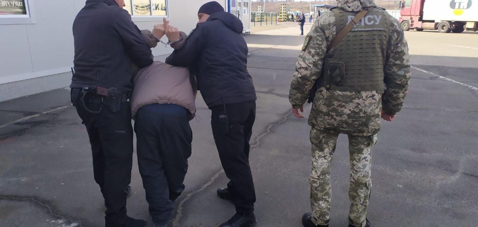 На Одесщине молдаванин устроил провокацию на границе