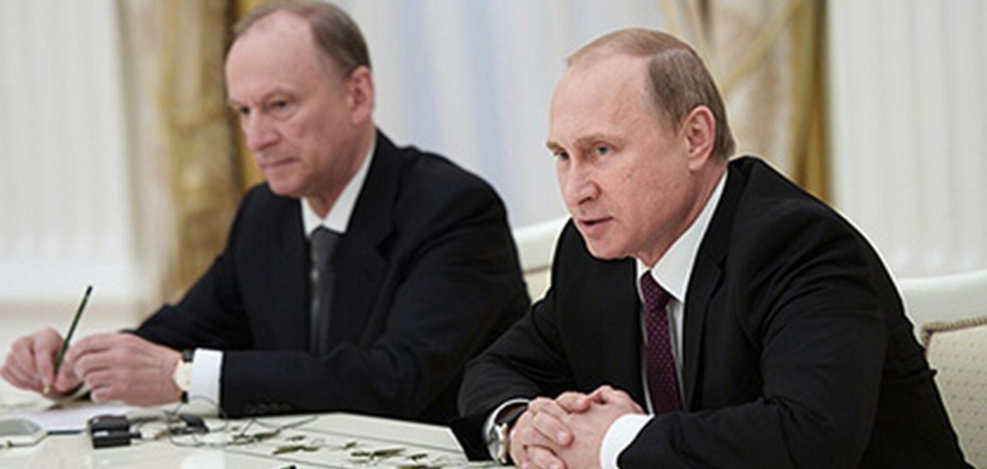 Микола Патрушев і Володимир Путін