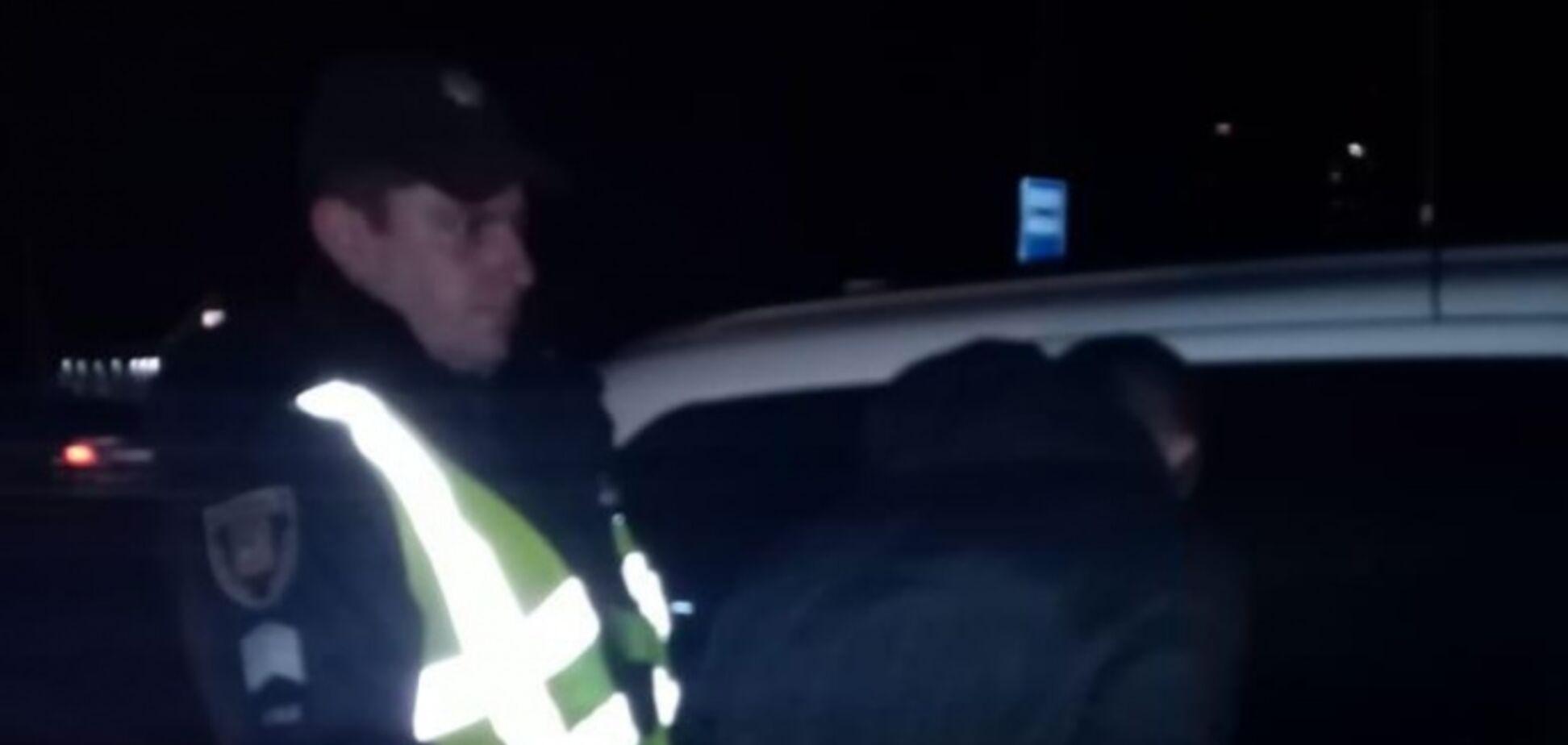 В Броварах пьяный коп сбил людей на переходе