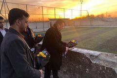 Место гибели украинцев в Иране