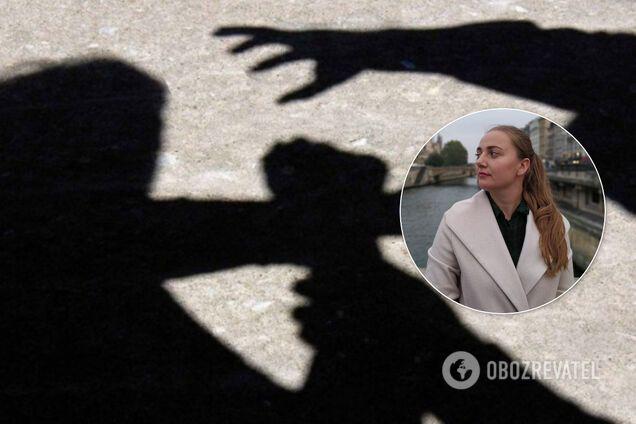 В Киеве напали на журналистку Анну Калюжную