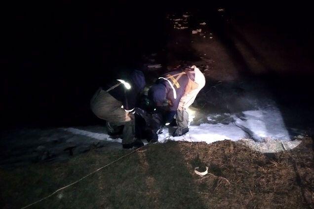 Чоловік провалився під лід під час лову риби