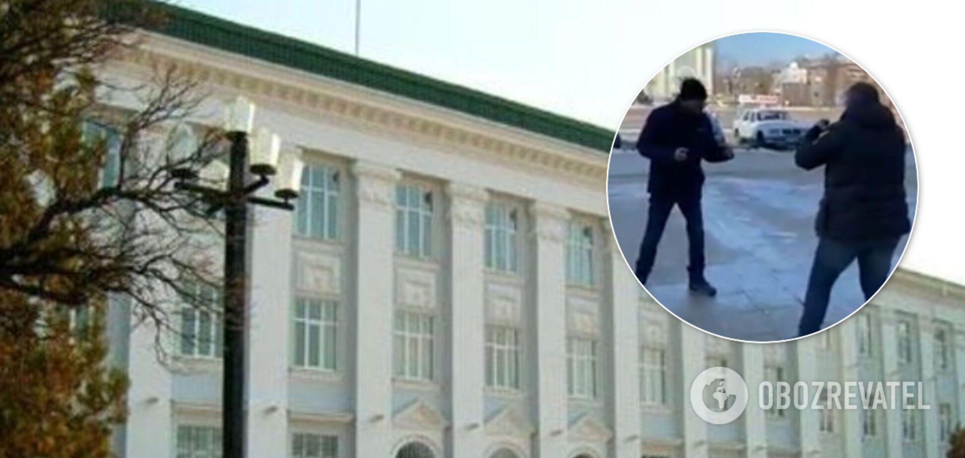 Помічник 'слуги' і депутат міськради влаштували бійку