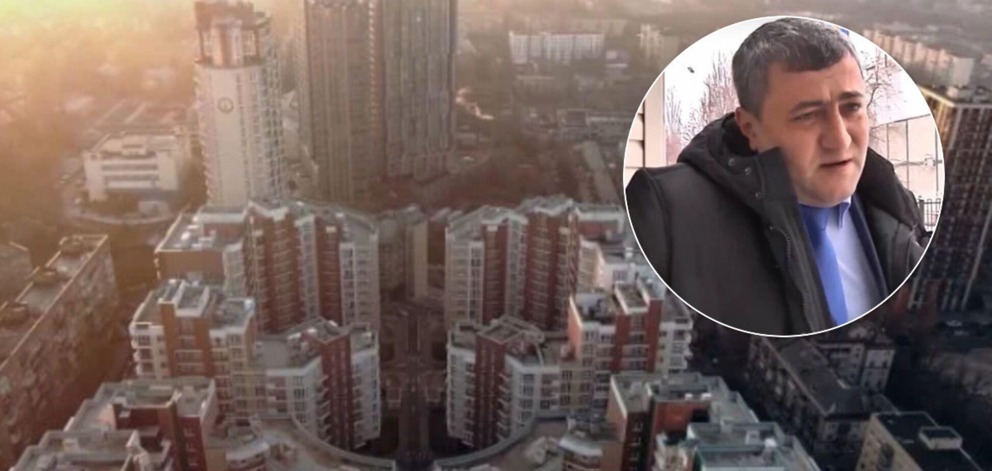 Всплыло имущество главыЭнергетической таможни Андрея Хомяка