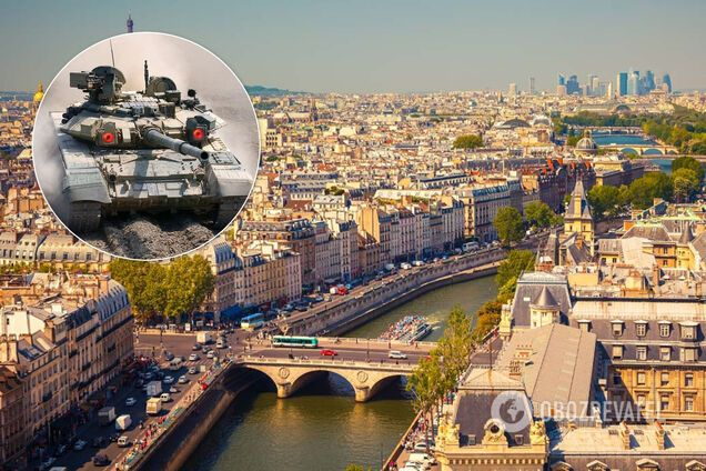 """""""В Париже могут появиться российские танки"""": Макрона предупредили об угрозе"""