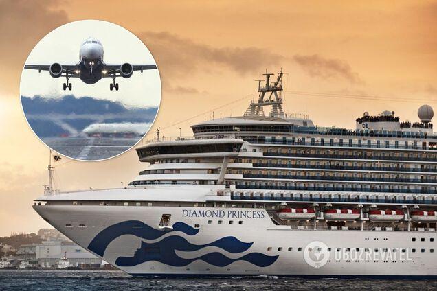 Коронавирус на лайнере в Японии: Украина не планирует спасать своих граждан