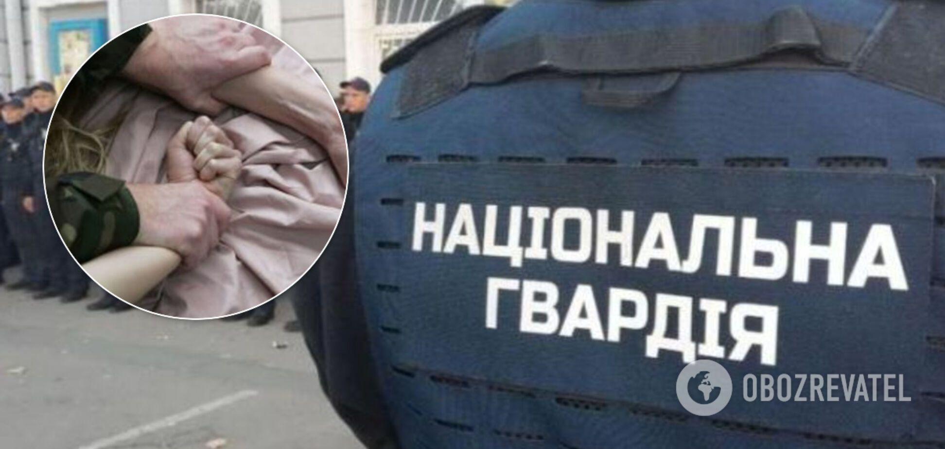 В Ужгороде изнасиловали несовершеннолетнюю: в Нацгвардии ответили