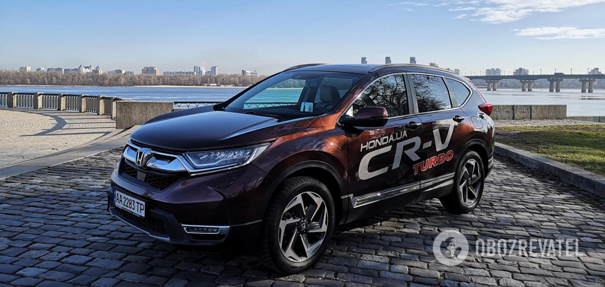 Семейные ценности: тестируем обновленный Honda CR-V