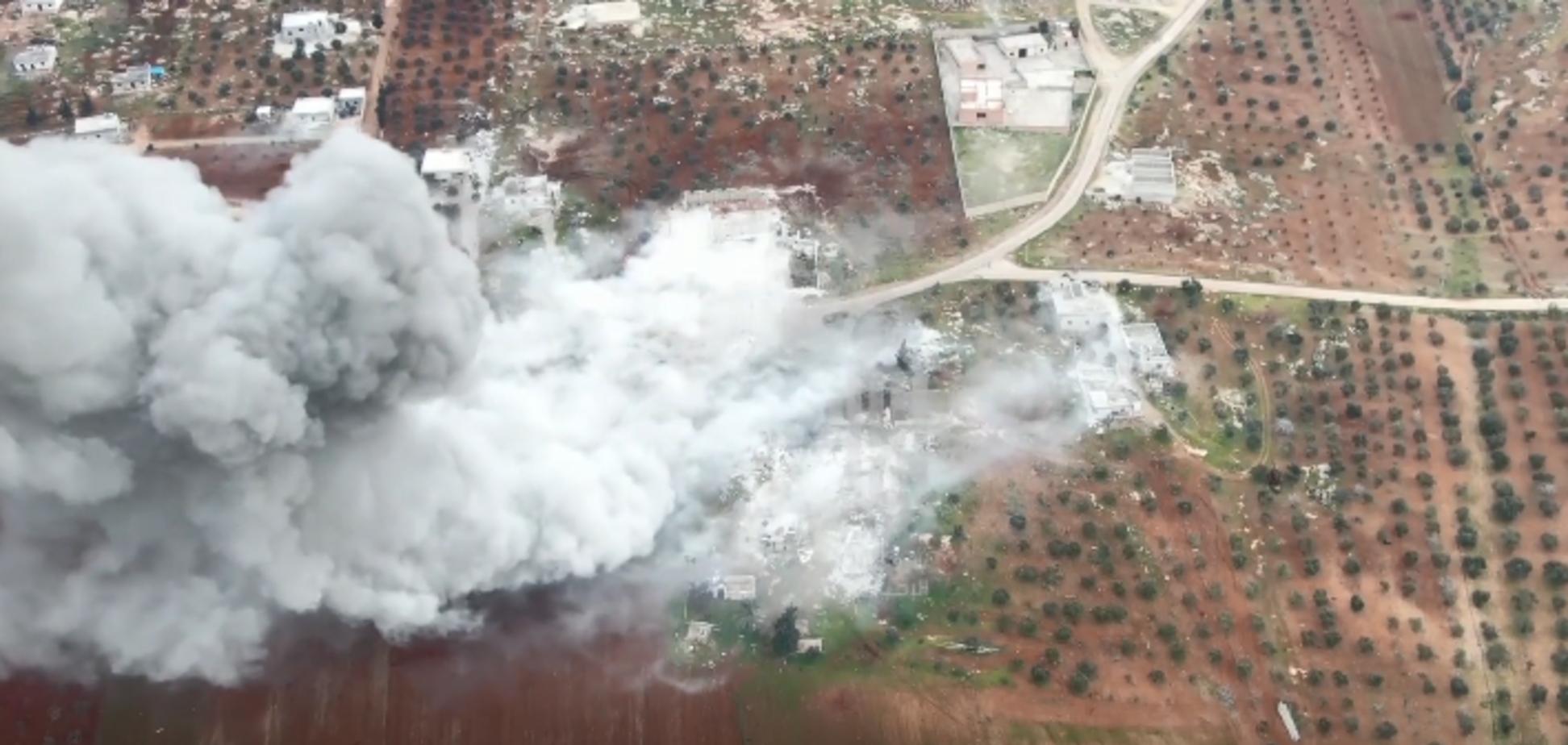 Взрыв на базе России в Сирии