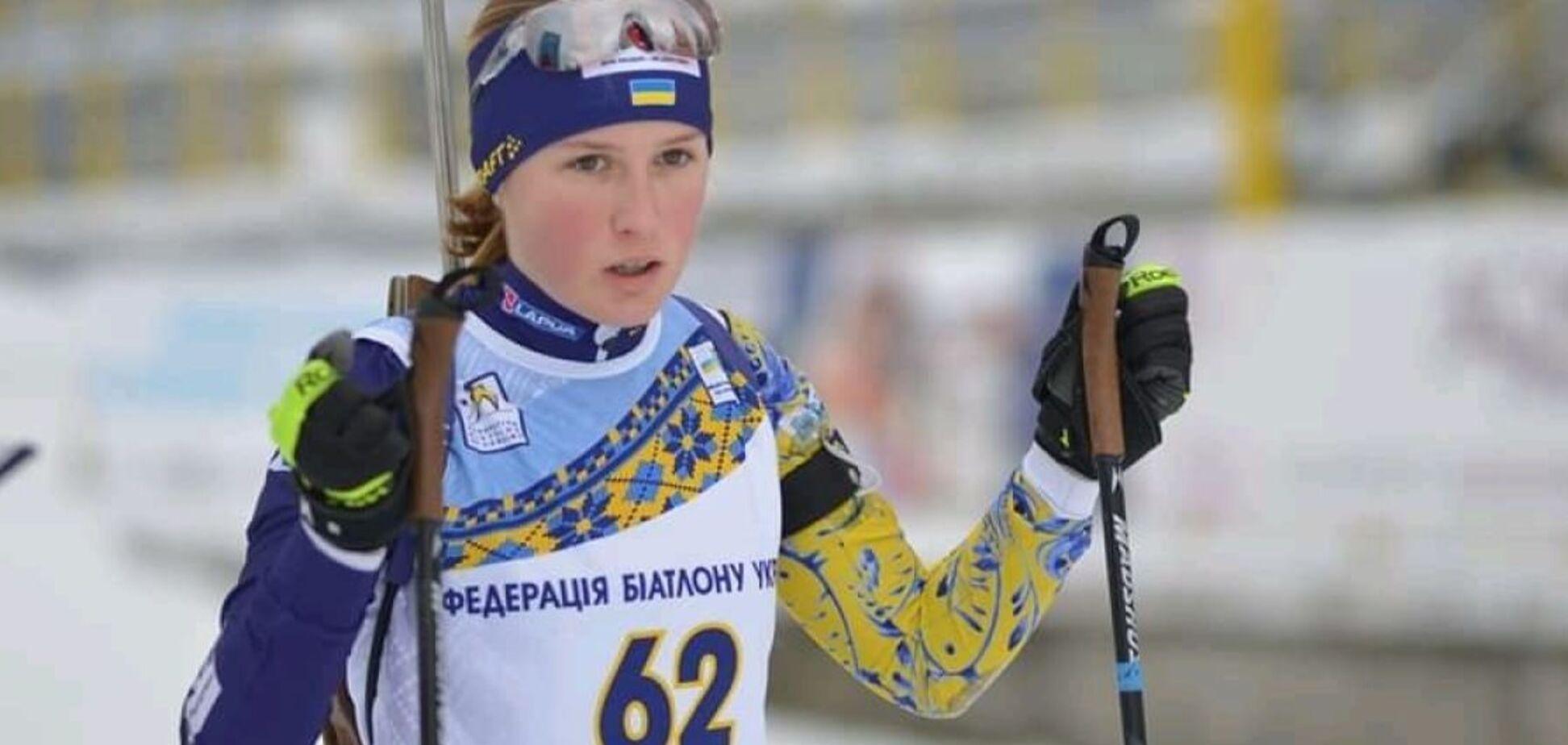 Украинка на финише проехала мимо топ-10 индивидуальной гонки ЧМ по биатлону
