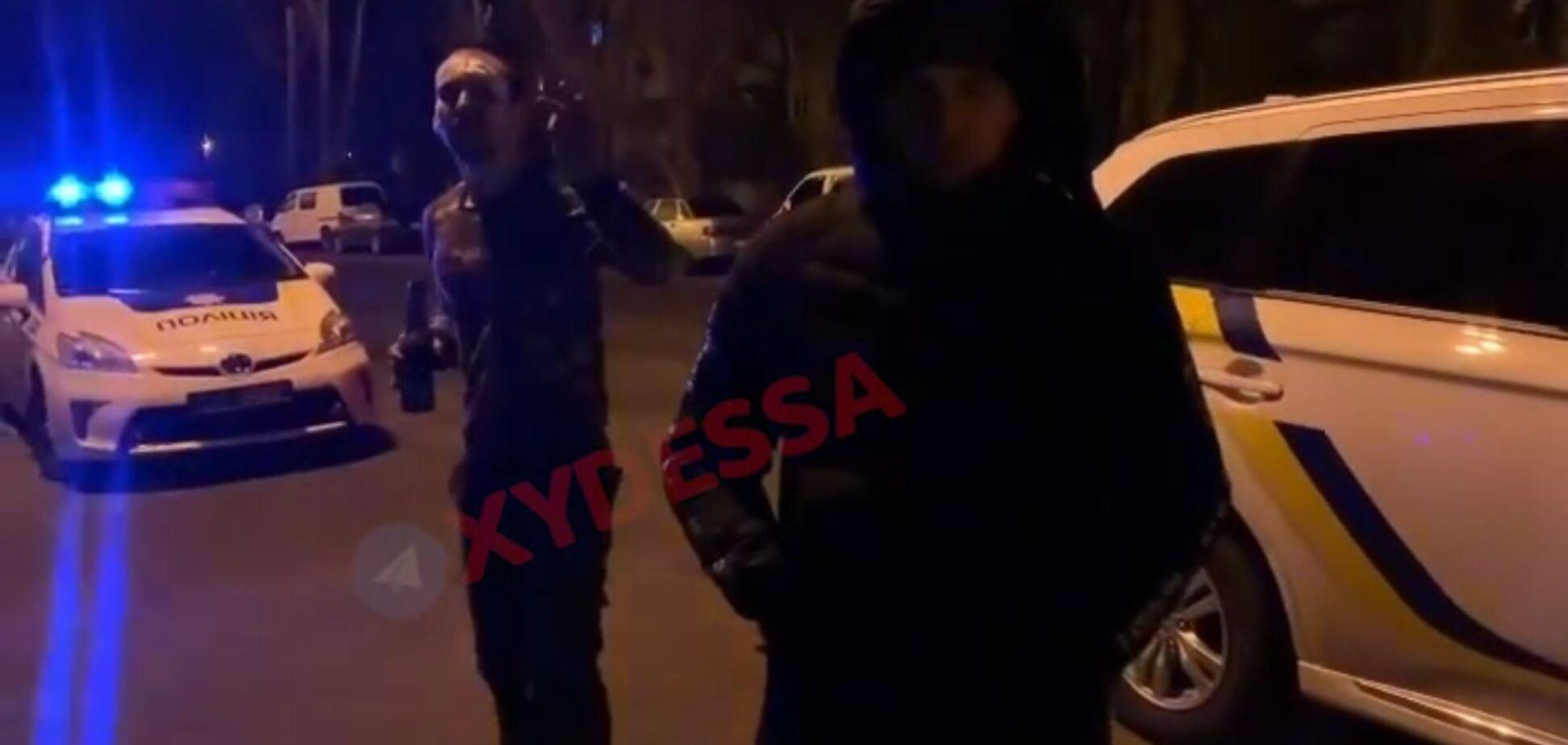 Появилось видео с виновником массового ДТП в Одессе