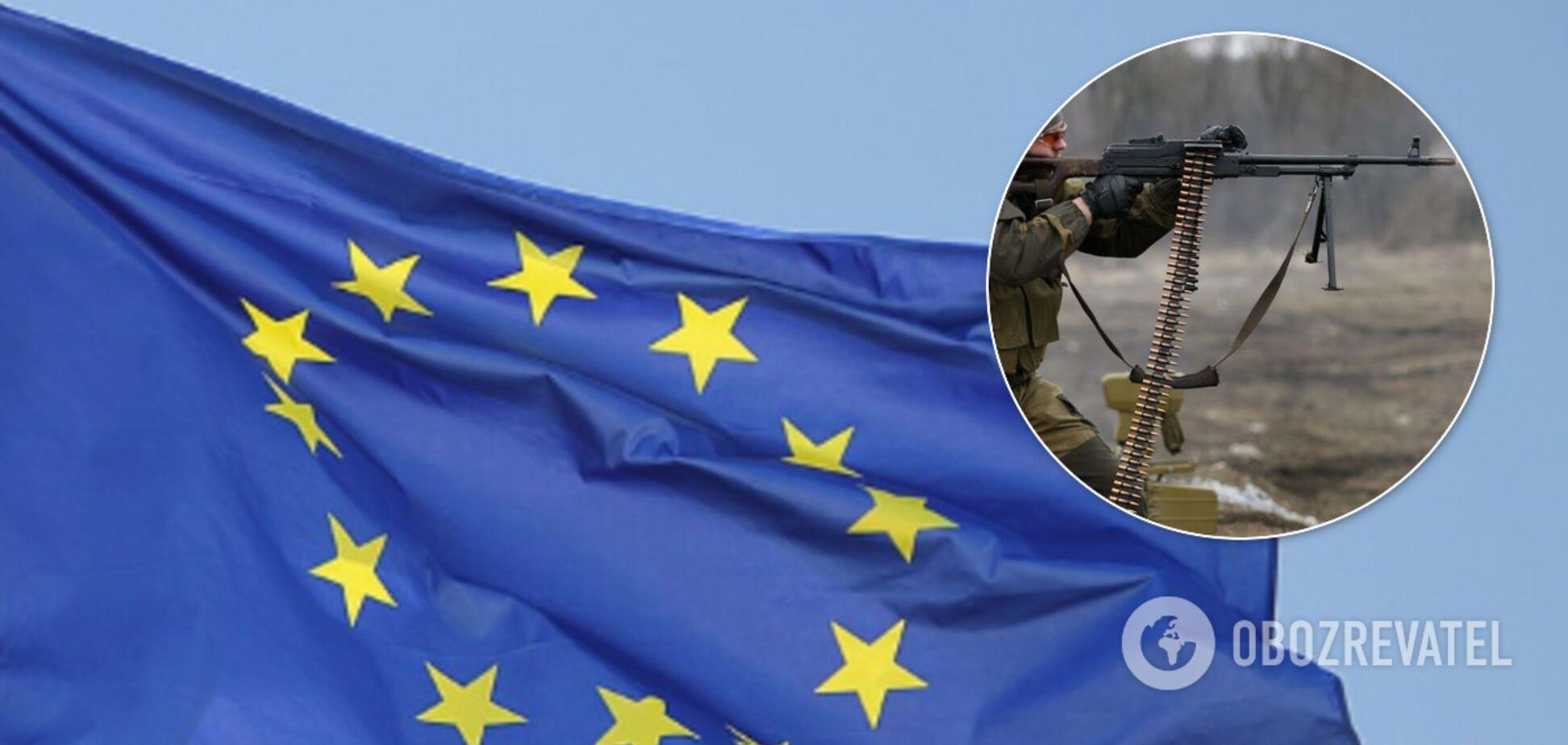 ЄС закликав Росію негайно вгамувати терористів на Донбасі