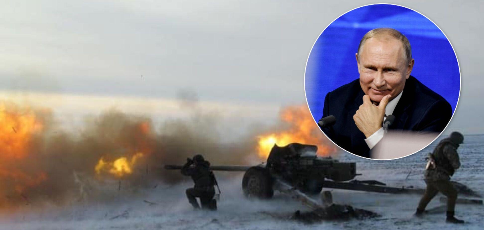 РФ пошла в наступление на Донбассе: как Путин отправил 'привет' Зеленскому