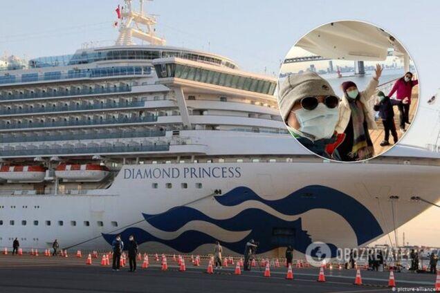 На Diamond Princess різко збільшилася кількість українців, які заразилися коронавірусом