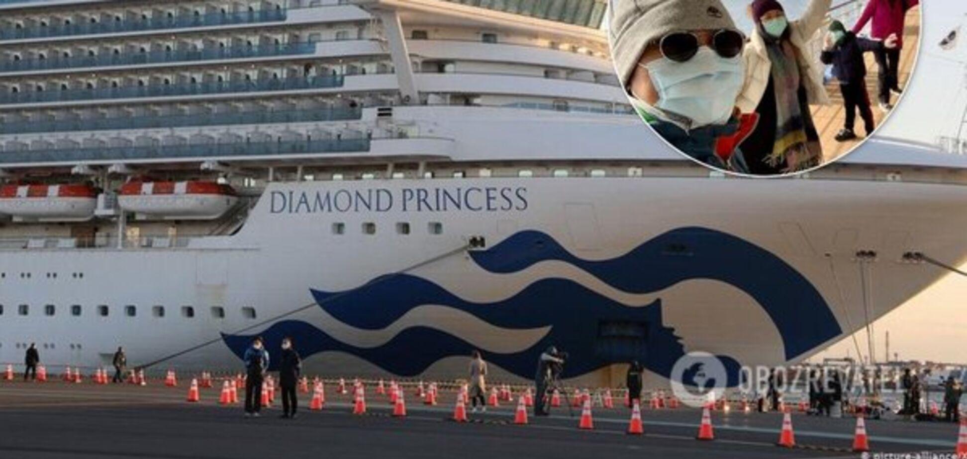 На Diamond Princess короновірусом заразилися вже 4 українці