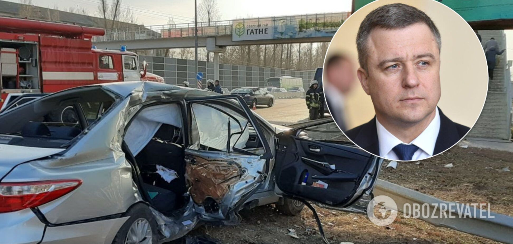 Под Киевом произошло ДТП с Кулебой