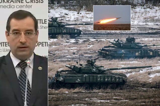 Вадим Скибицкий заявил, что Россия втрое увеличила свой военный потенциал у границ Украины