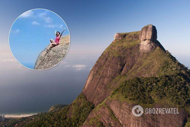 У Ріо-де-Жанейро туристка похвалилася відео на краю обриву