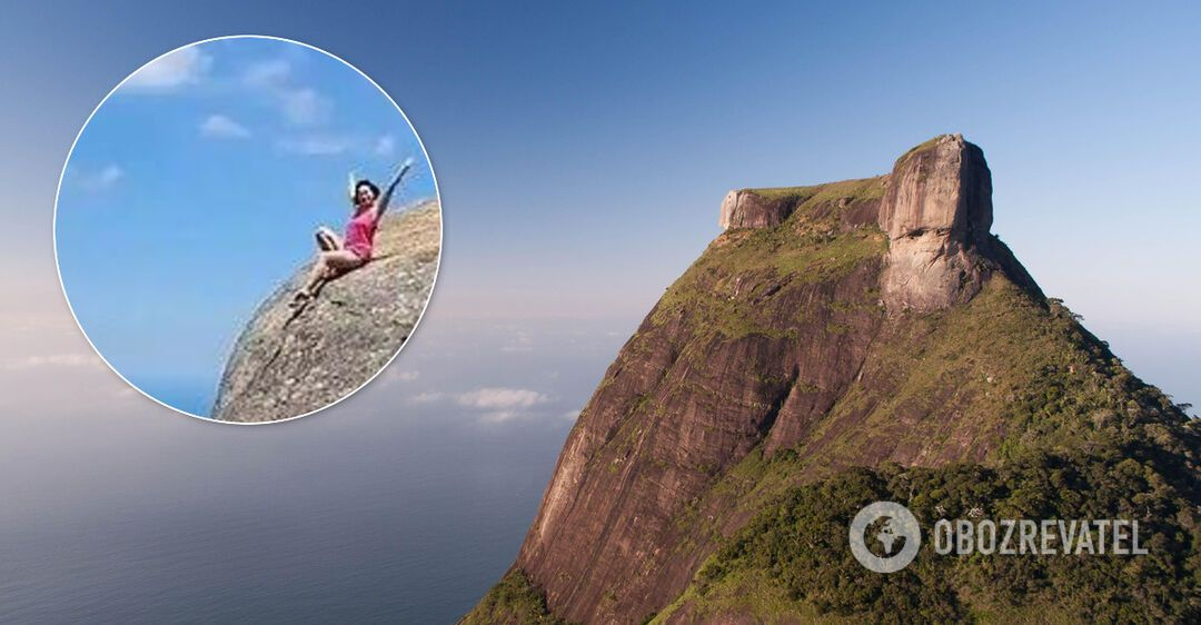 Туристка разозлила сеть опасным поступком над пропастью: шокирующие ка