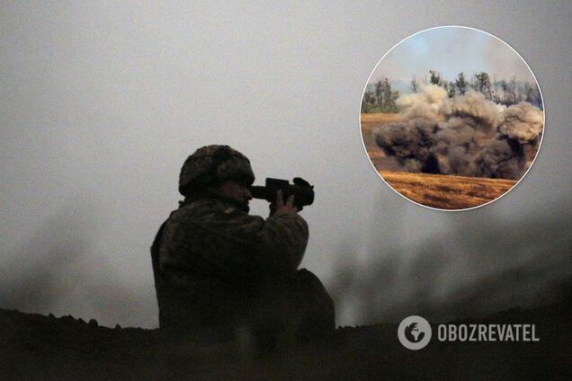 Обострение боев на Донбассе