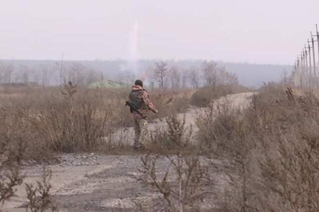 Бой на Донбассе 18 февраля