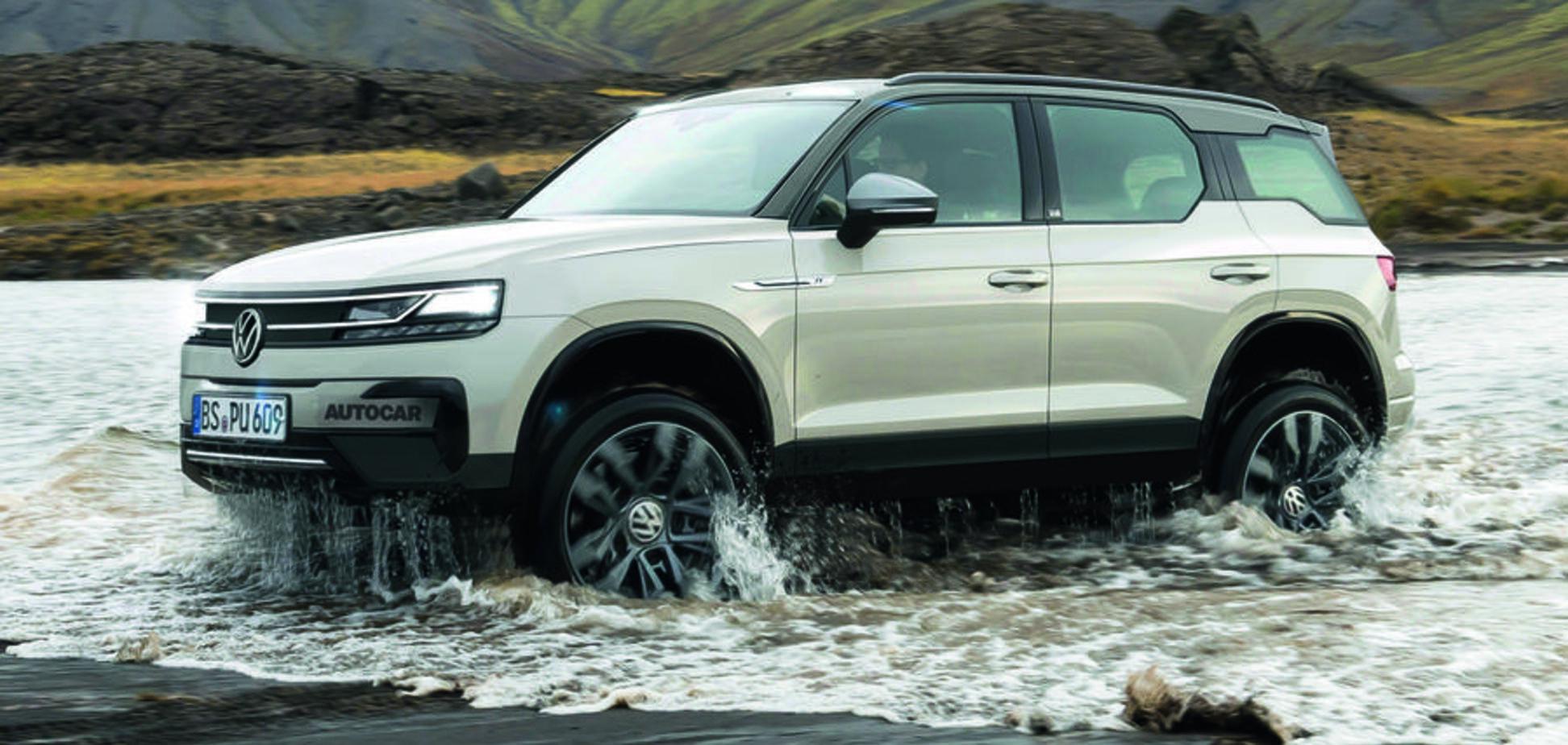 Брутальний і посилений: Volkswagen анонсувала новий електричний позашляховик