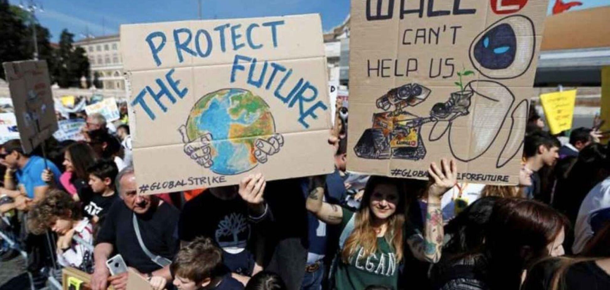 В Италии школьников заставят заниматься проблемами глобального потепления