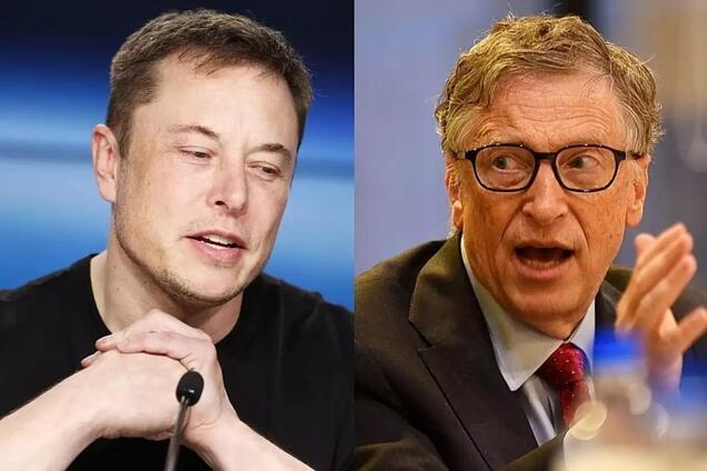 Ілон Маск і Білл Гейтс